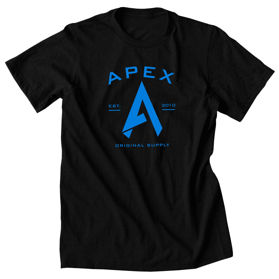 Apex Original Short Sleeve - NBlu on Blk