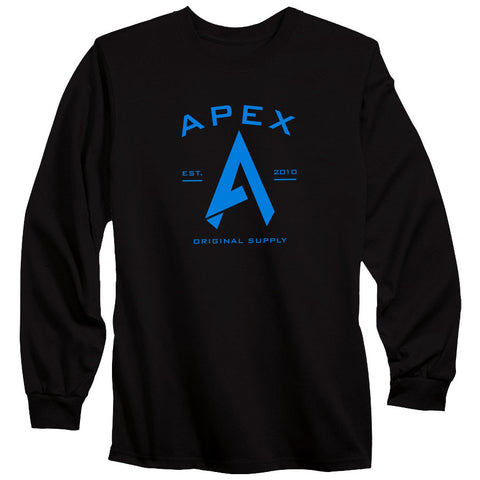 Apex Original Long Sleeve - NBlu on Blk