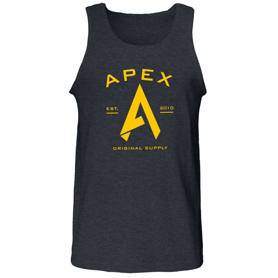 Apex Original Tank Top - Yel on ChclHthr