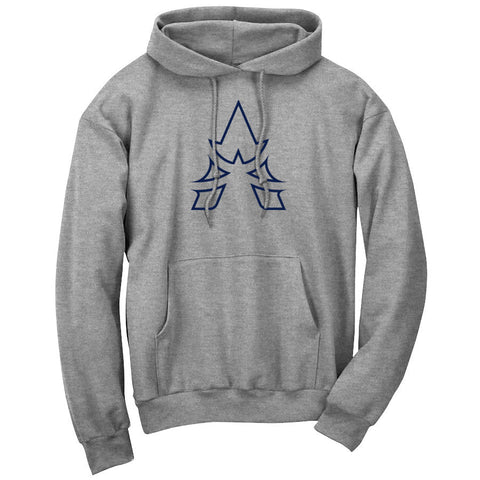 Apex Outline Hoodie - Nvy on SprtGry