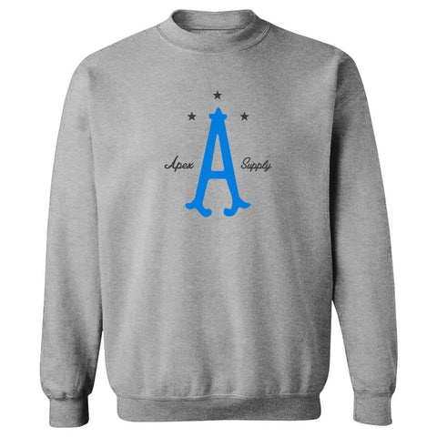 Apex Parliament Crewneck - NBluDGry on SprtGry