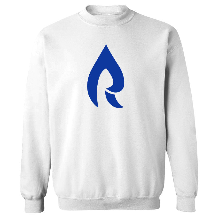 Rain Icon Crewneck - LRyl on Wht
