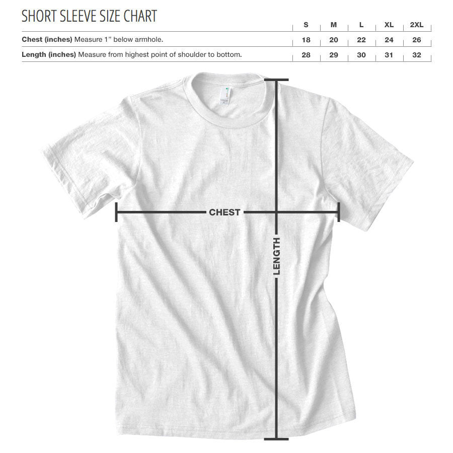 Rain Decay Short Sleeve - RedWht on Blk