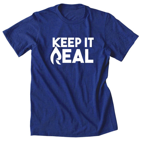 Rain Keep It Real Short Sleeve - Wht on Ryl