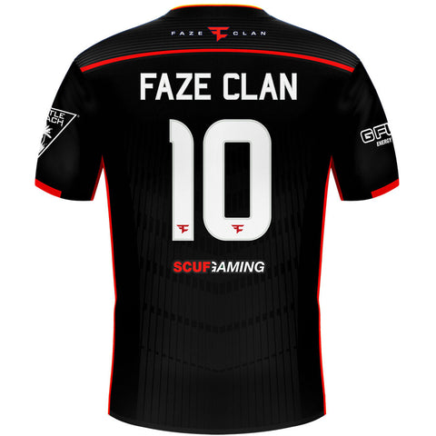 FaZe Clan USA 2017 Pro Team Jersey - Blk