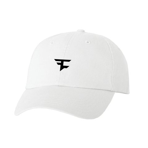 Dad Hat - Blk on Wht