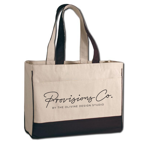 Provisions Co. Signature Canvas Tote