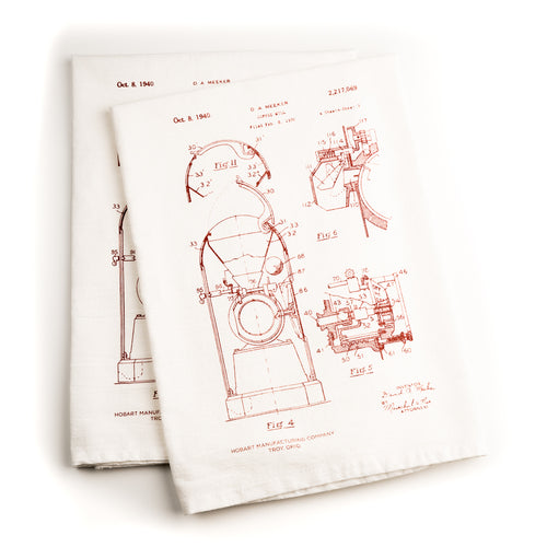 Kitchen Towel  |  Hobart Coffee Mill