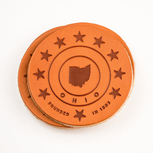 Leather Drink Coasters