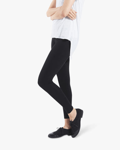 Blaze Leggings - black cotton leggings