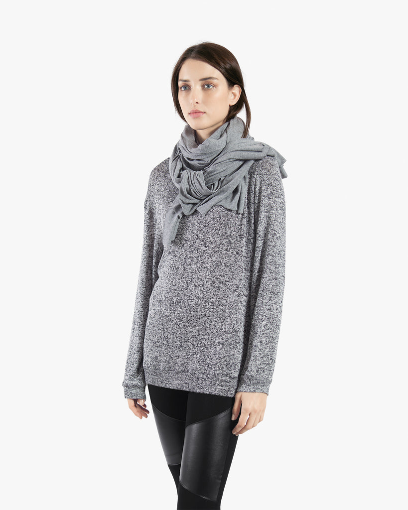 My Chunky Scarf - accessories grey scarf
