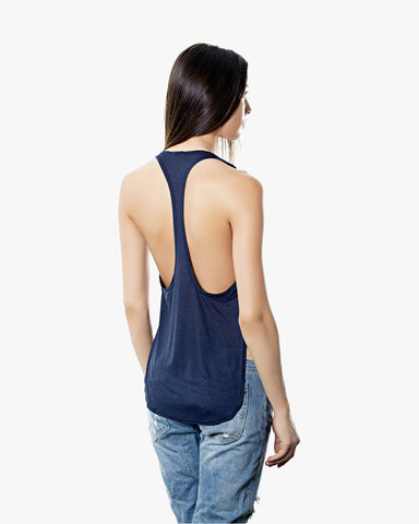 Chloe Tank - black tank top, Blue sexy tank top, crop tops, linen, loose fit, racerback, sexy shirts, sleeveless, summer, tank tops, tank tops for women, womens tank tops,