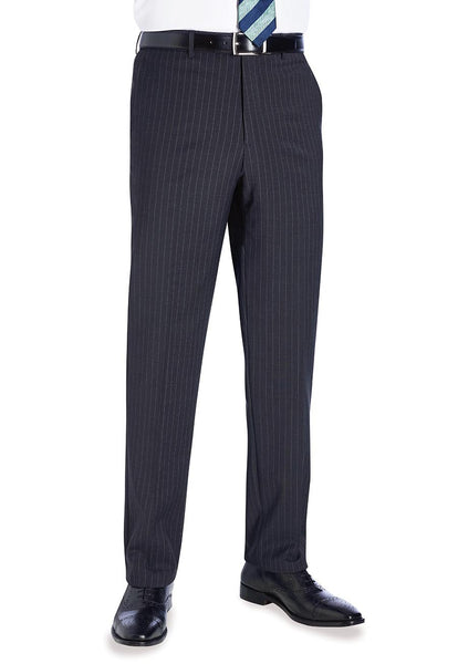 Avalino Charcoal Grey Pinstripe