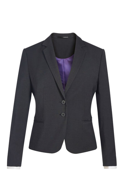Brook Taverner Charcoal Grey Calvi Slim Fit Jacket