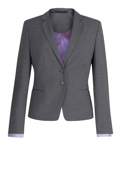 Brook Taverner Light Grey Calvi Slim Fit Jacket
