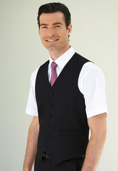 Brook Taverner black Apollo waistcoat