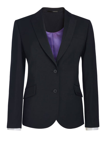 Brook Taverner Black Novara Tailored Fit Jacket
