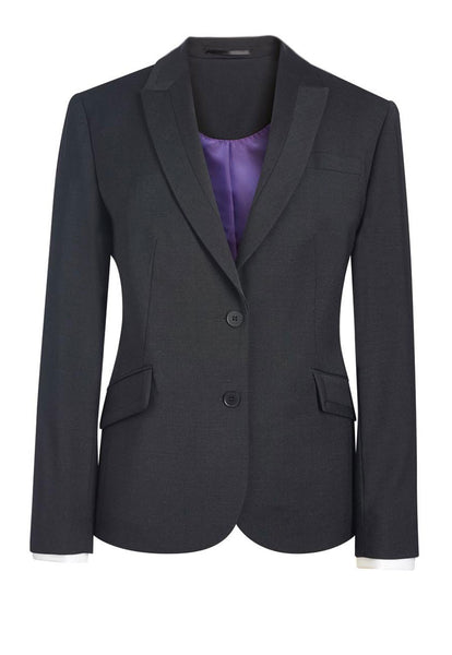 Brook Taverner Charcoal Grey Novara Tailored Fit Jacket
