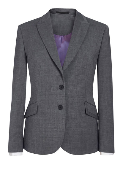 Brook Taverner Light Grey Novara Tailored Fit Jacket