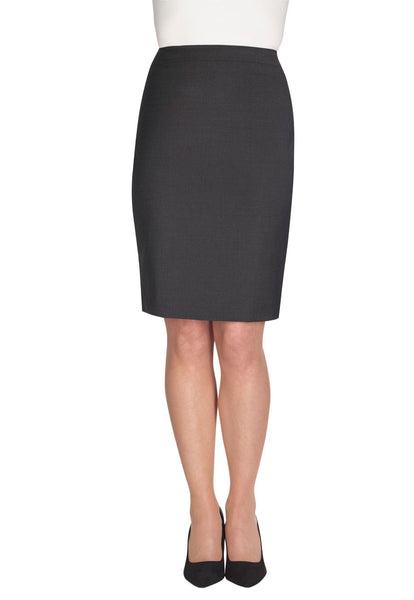 Brook Taverner Charcoal Grey Numana Straight Skirt