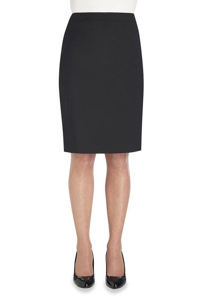 Brook Taverner Black Numana Straight Skirt