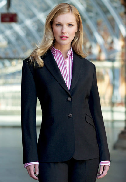 Brook Taverner Black Opera Classic Fit Jacket