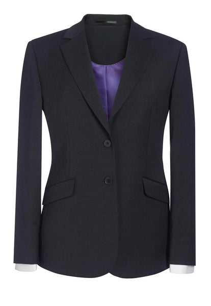 Brook Taverner Charcoal Grey Opera Classic Fit Jacket