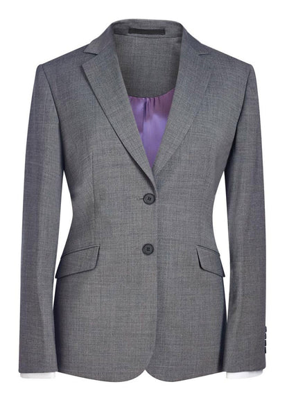 Brook Taverner Light Grey Opera Classic Fit Jacket