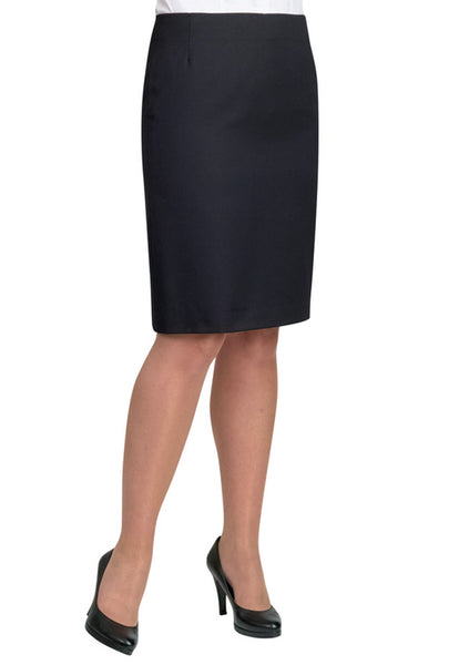 Brook Taverner Black Sigma Straight Skirt
