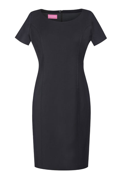 Brook Taverner Black Teramo Dress