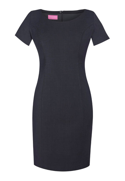 Brook Taverner Charcoal Grey Teramo Dress