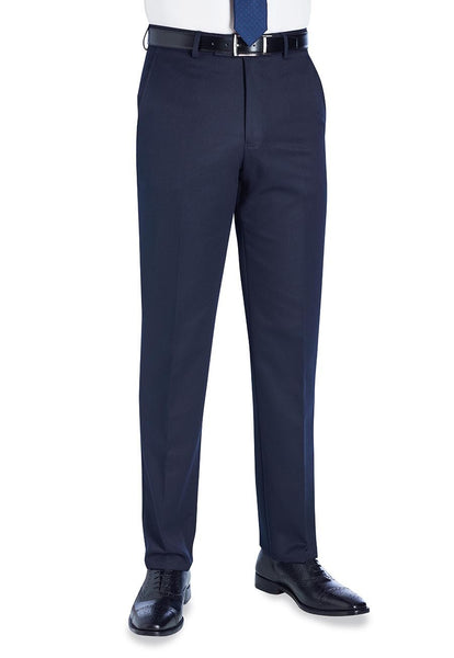 Brook Taverner Navy Blue Apollo Trousers