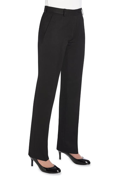 Brook Taverner Aura Black Straight Leg Trouser