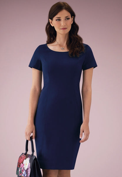 Brook Taverner Mid Blue Teramo Dress