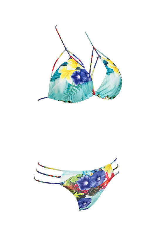 Floral Crush Caged Bikini