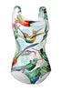 Birds of Paradise One Piece Swimsuit