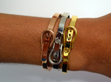 Inspired Belt Buckle Bracelets