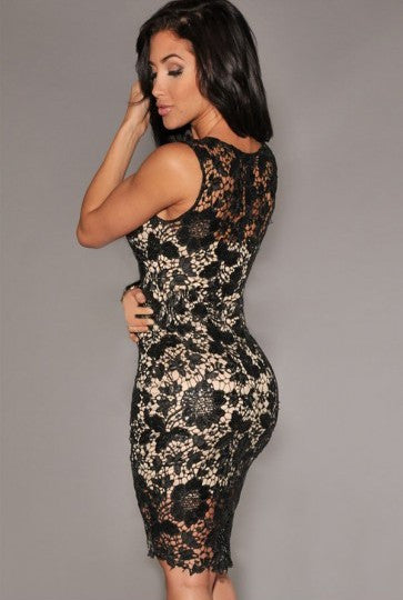 Mia Lu Lace Dress