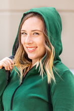 Load image into Gallery viewer, Classic Evergreen HalfZip Hoodie