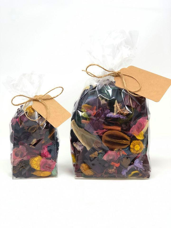 LARGE Dried Botanical Potpourri with Essential Oils