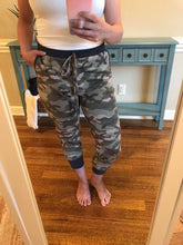 Load image into Gallery viewer, Accent Joggers | Camo and Charcoal