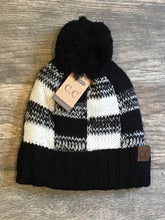 Load image into Gallery viewer, Plaid Beanie