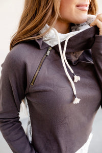 Charcoal Lace Accent DoubleHood™