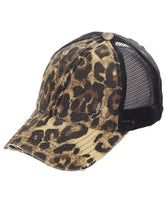 Load image into Gallery viewer, C.C Distressed Hat- Multiple Colors