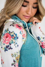 Load image into Gallery viewer, Teal Floral DoubleHood™