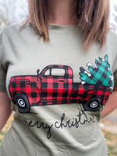 Load image into Gallery viewer, Hauling The Christmas Tree Tee