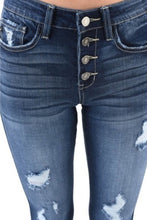 Load image into Gallery viewer, Kan Can Distressed Jeans