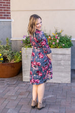 Load image into Gallery viewer, Taylor Dress - Denim Floral
