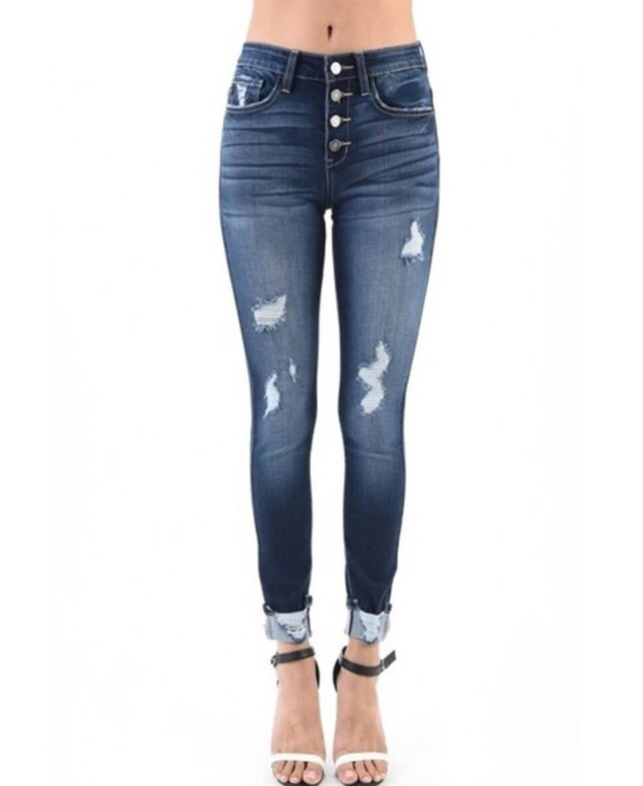 Kan Can Distressed Jeans