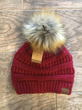 Load image into Gallery viewer, C.C Beanie With Pom